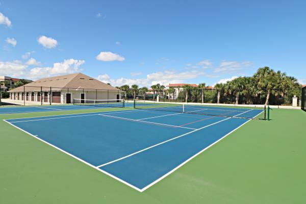 tennis courts at anastasia condos